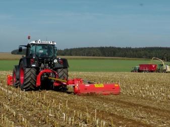 Мулчер с хидравлично рамо за трева и клони до Ø 12 см (120-200 к.с.) модел GIRAFFA  XXL