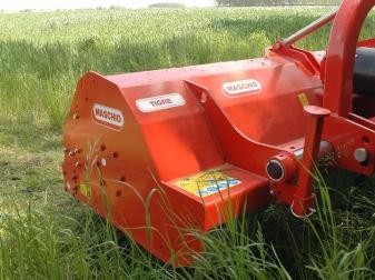 Шредер за трева и клони  до Ø 12 см (55-100 к.с.)  модел TIGRE