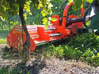 Мулчер за преден и заден навес за трева и клони до Ø 2 см (10-40 к.с.)  модел FURBA